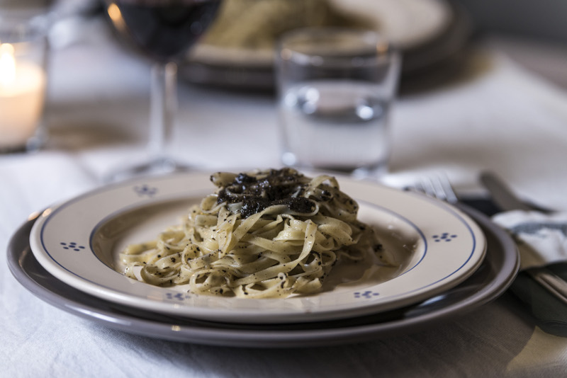 Cucina di Pettino - Pasta with Black Truffles from Umbria